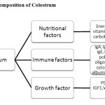 Figure 1: Composition of Colostrum